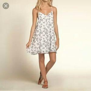 Hollister floral babydoll chiffon dress